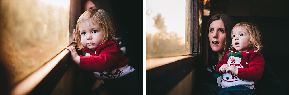 Imogen Santa Train 2014