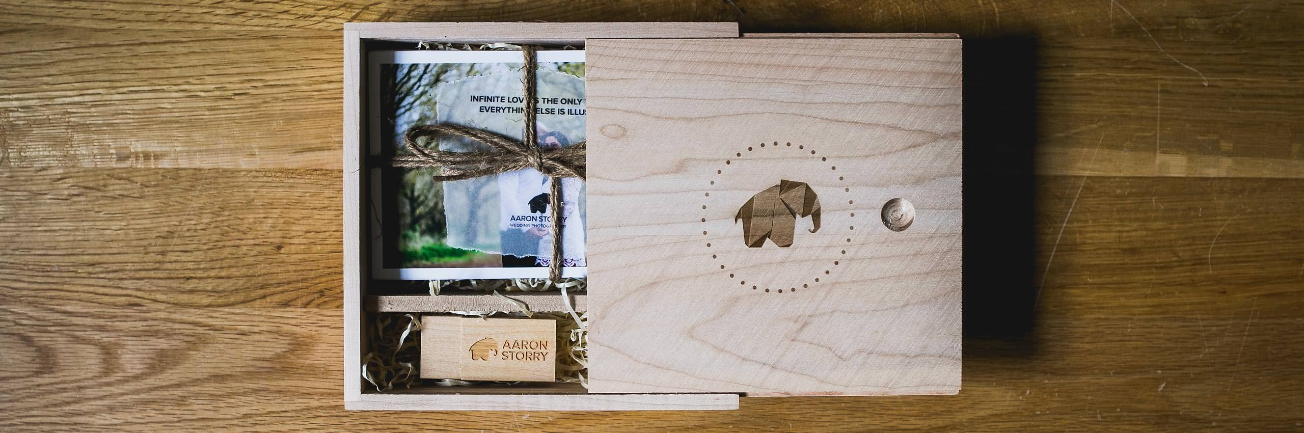 Aaron Storry Photography - Wooden USB Box