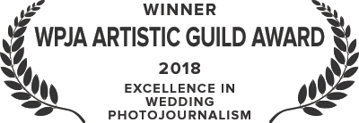 The Wedding Photojournalist Association, Artistic Guild Award - 2018