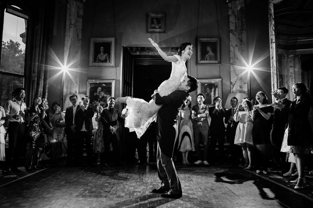 Award Winning First Dance at Eastnor Castle in the Cotswolds