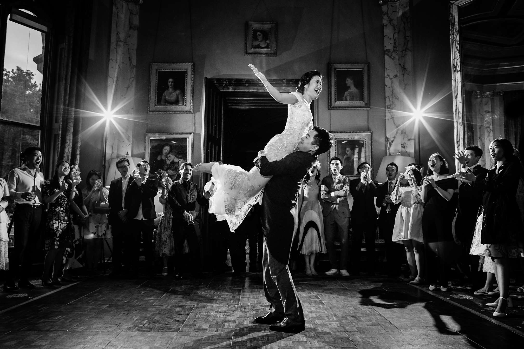 Award-Winning First Dance at Eastnor Castle in the Cotswolds