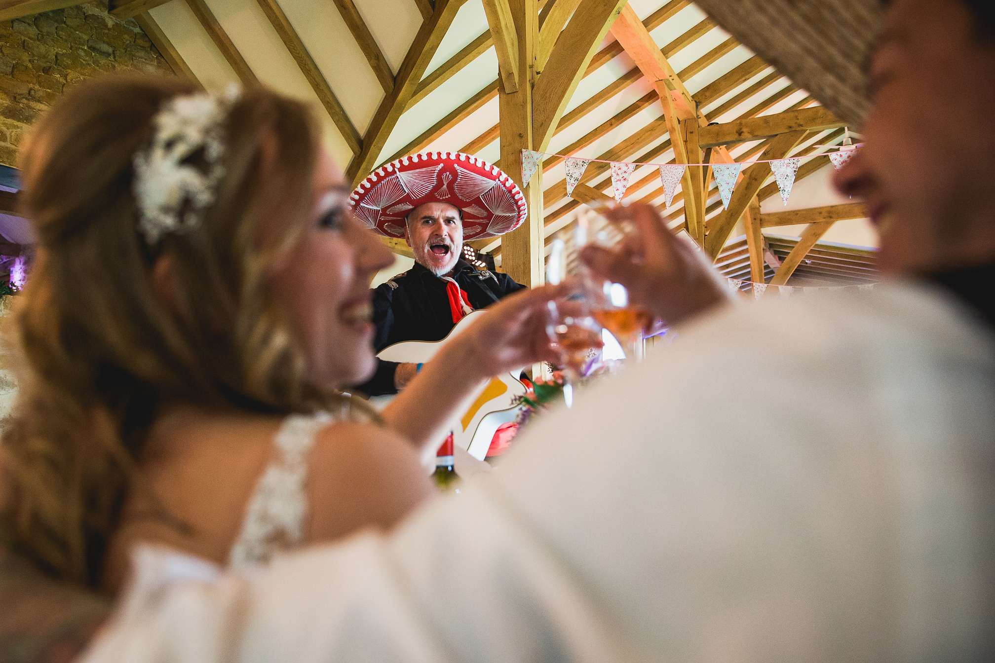 Mexican Mariachi Wedding Band at Dodford Manor
