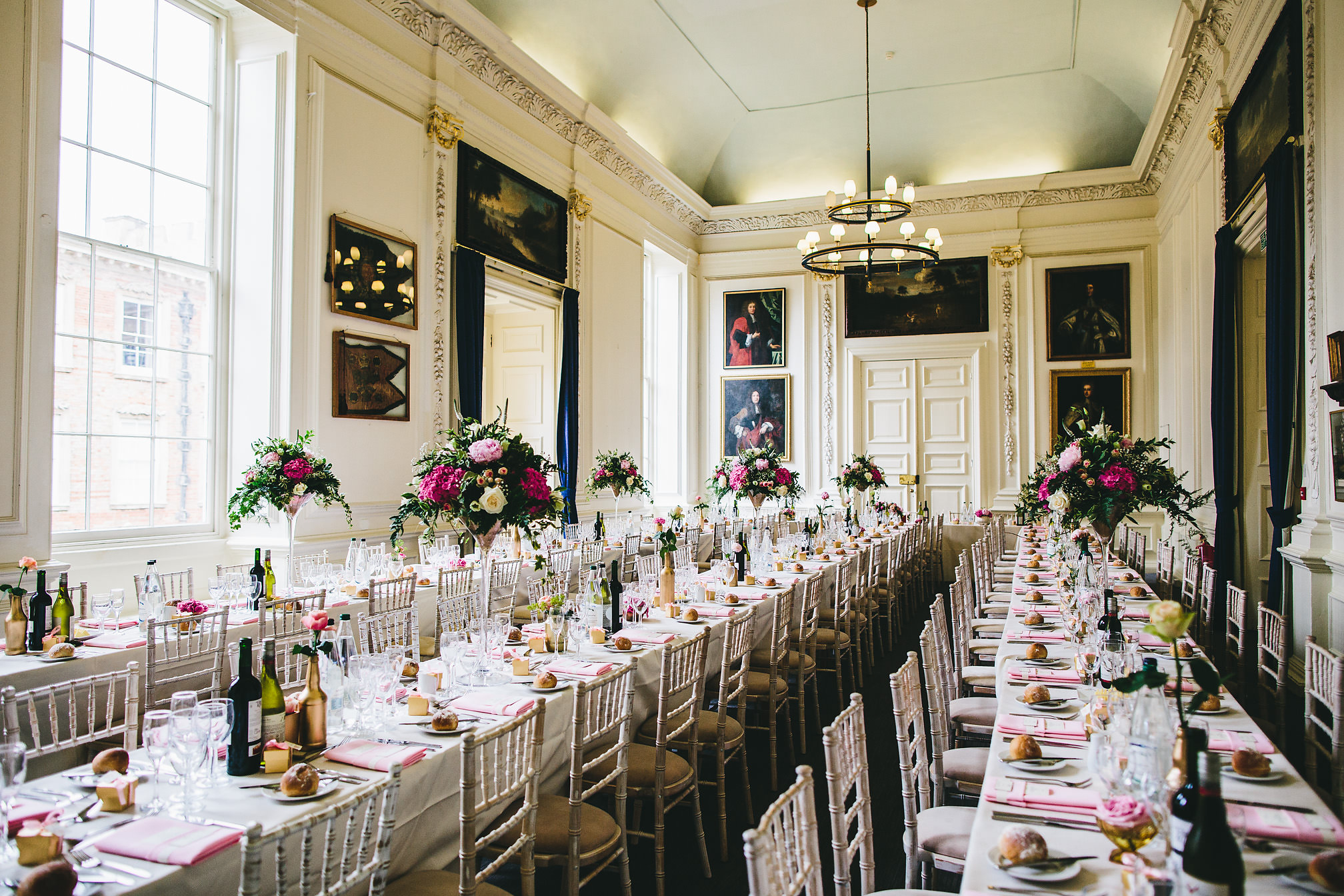 Kimbolton Castle Wedding Breakfast