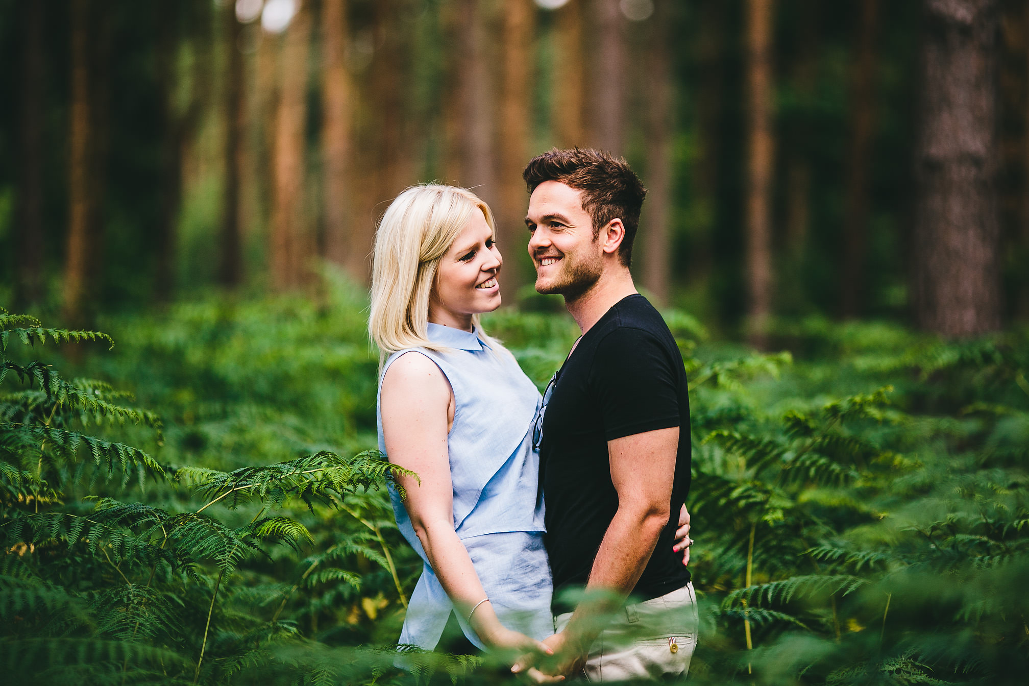 Pre-Wedding shoot in the woods