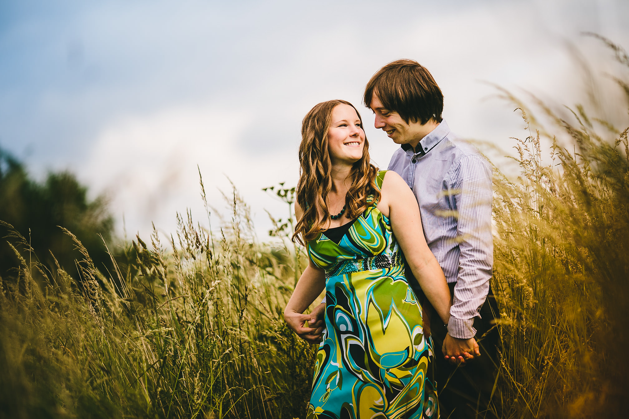 Pre-Wedding shoot at Delapre Park, Northamptonshire