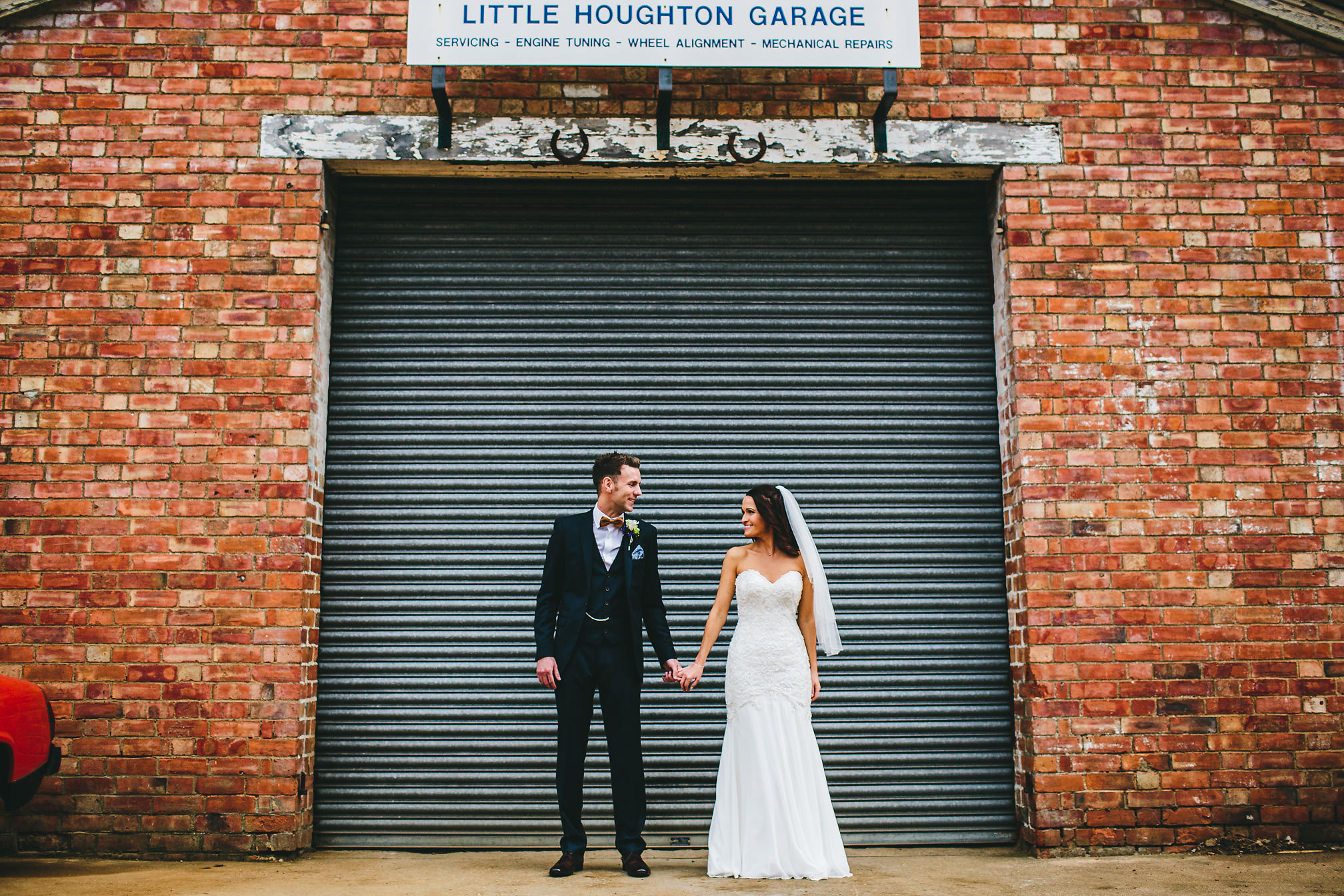 Married Couple at Little Houghton Garage