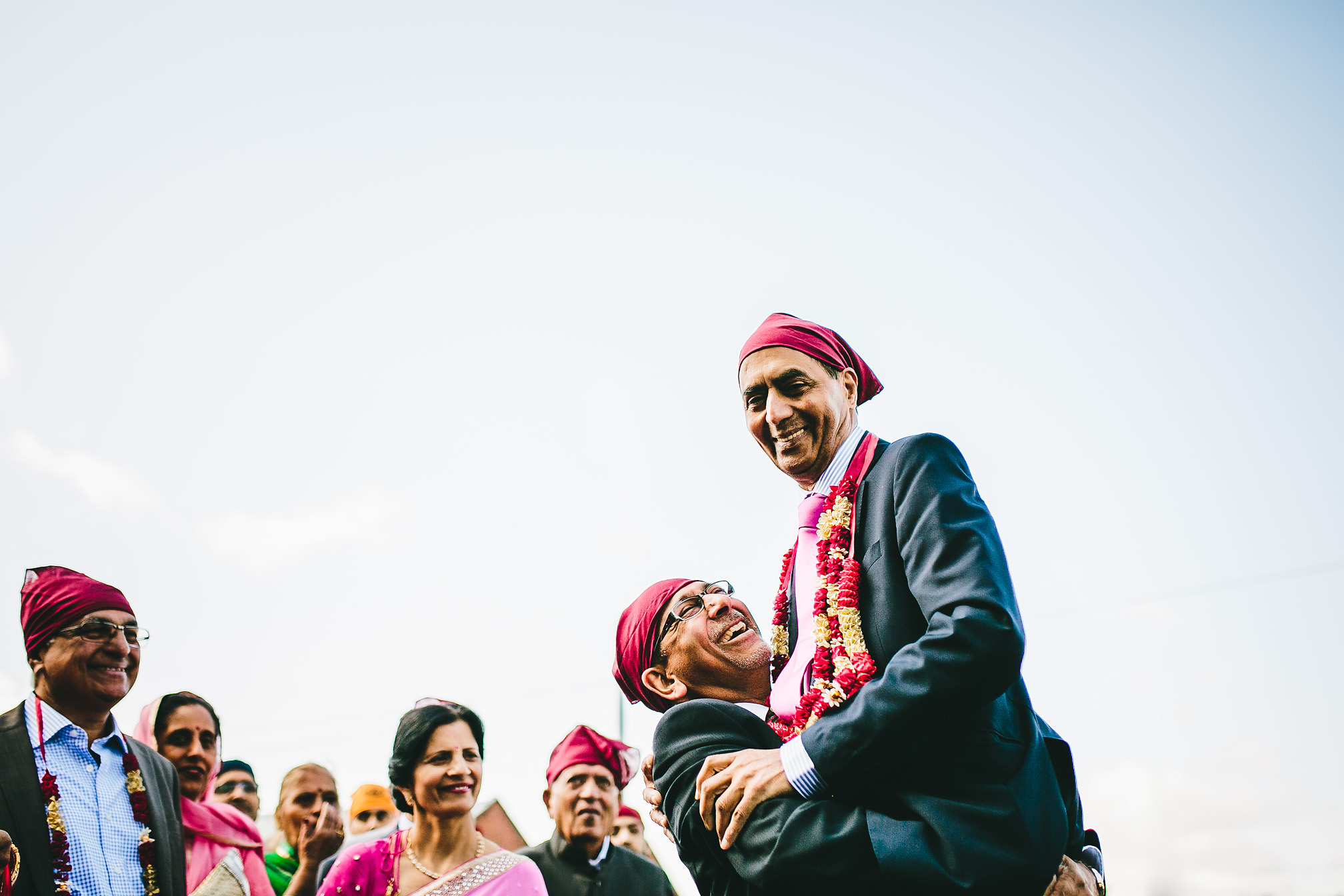 Sikh Wedding dancing