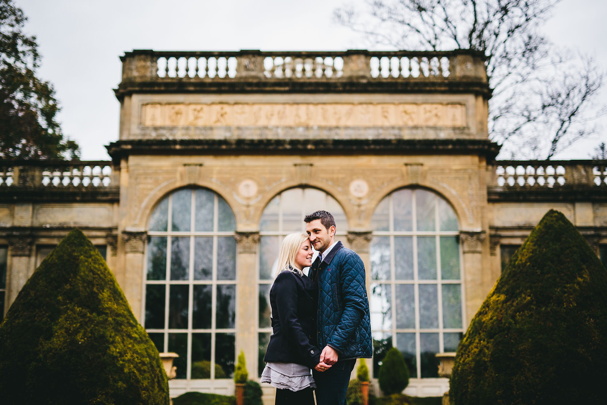 Castle Ashby Pre-Wedding shoot