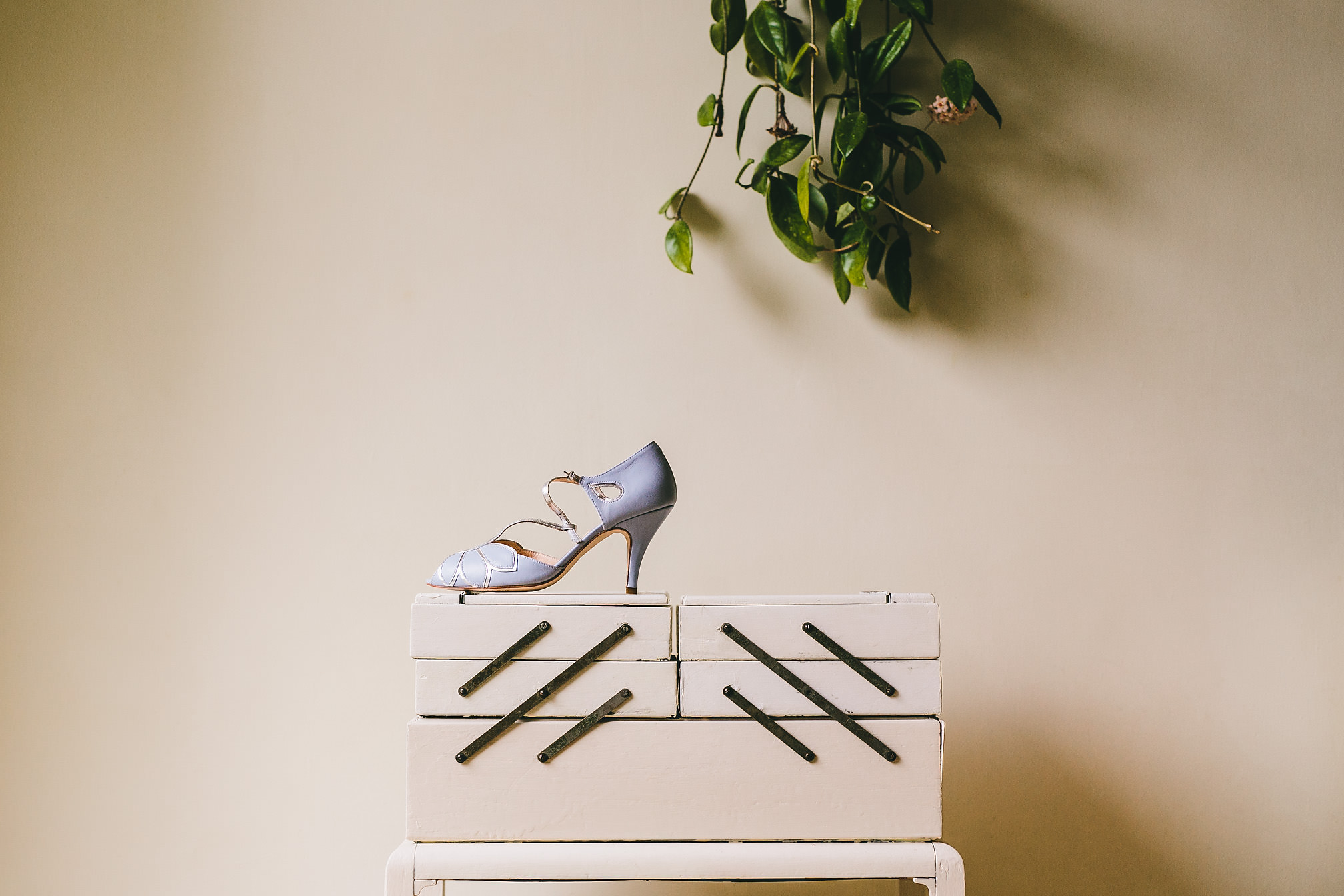 Wedding Shoe Details Shot