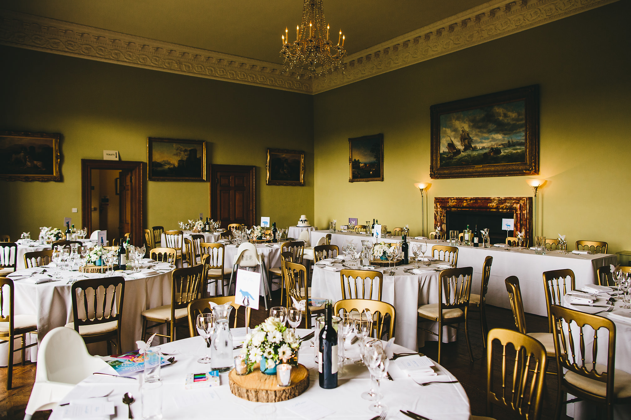 Kelmarsh Hall, Wedding Breakfast