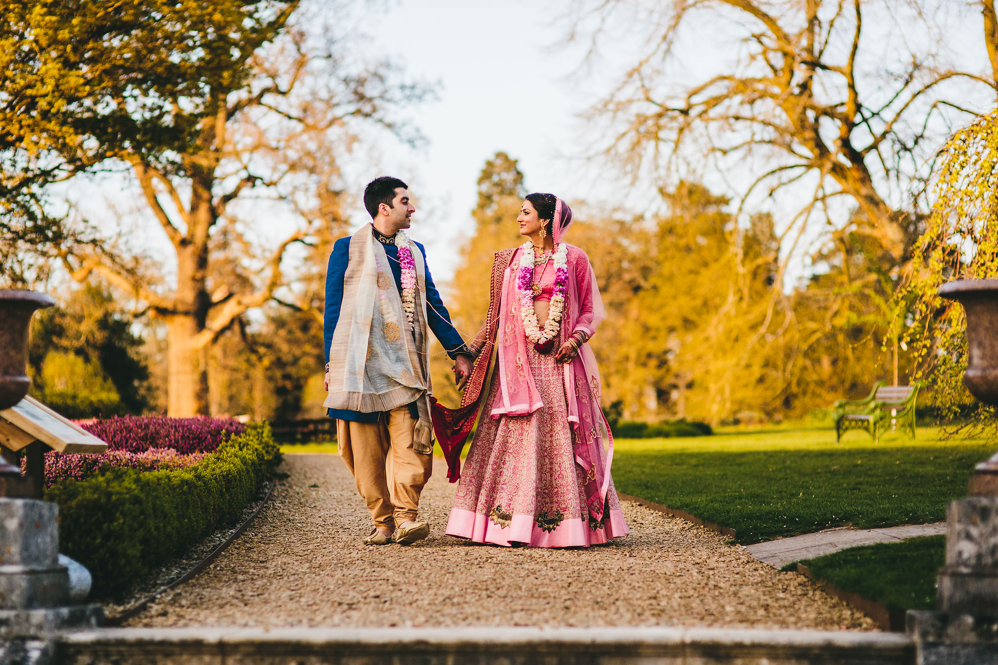 Hindu Wedding at Woburn Abbey Sculpture Gallery