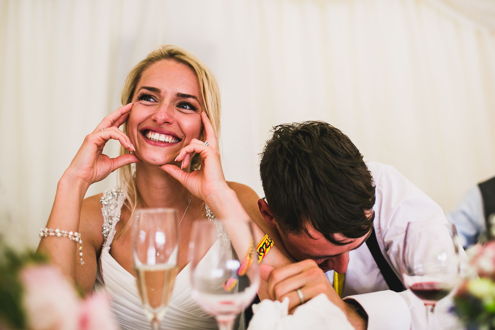 MyWed Editors Choice - Bride Laughing during Speeches