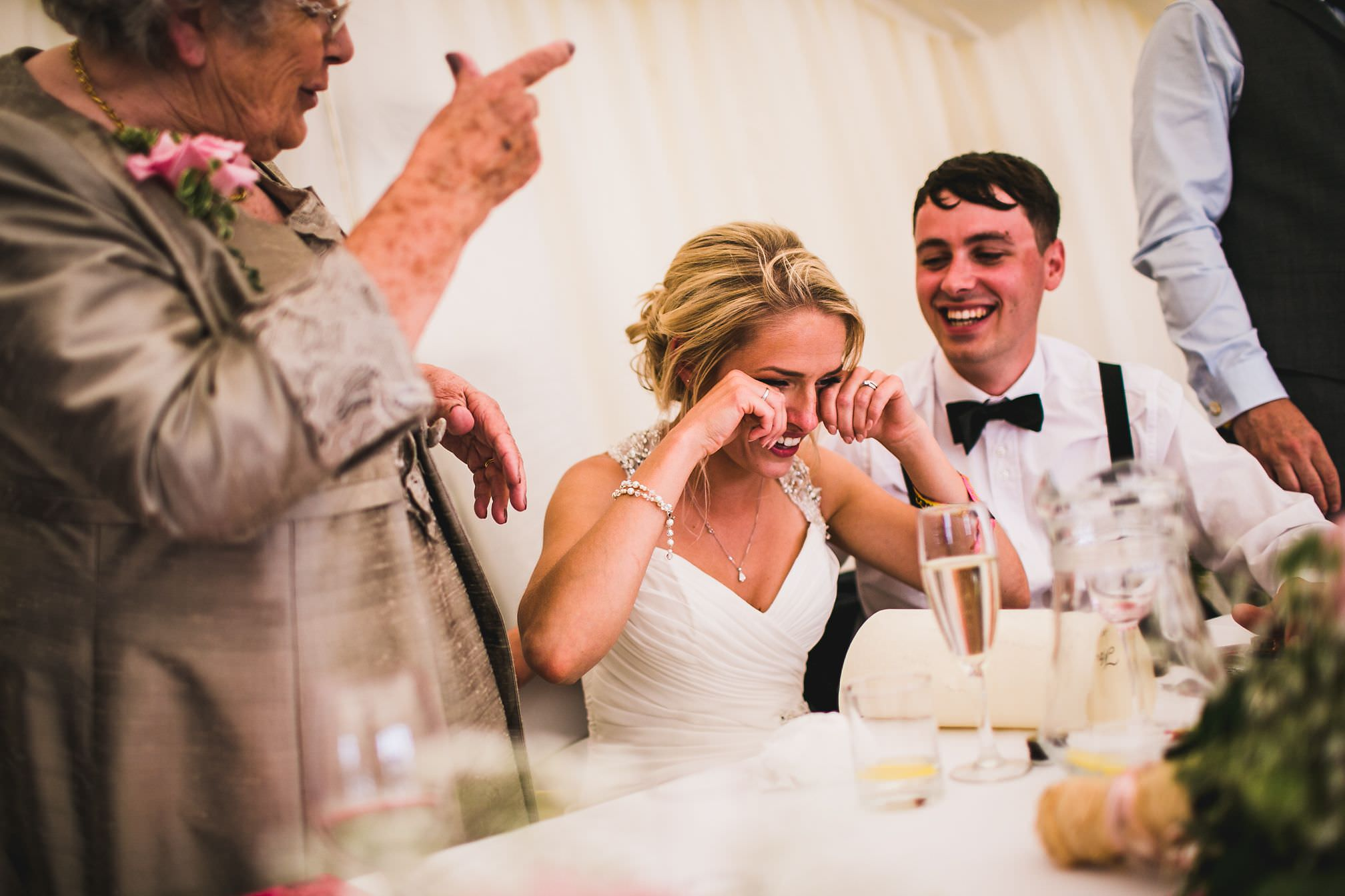 MyWed Editors Choice - Bride Laughing and Crying during Speeches