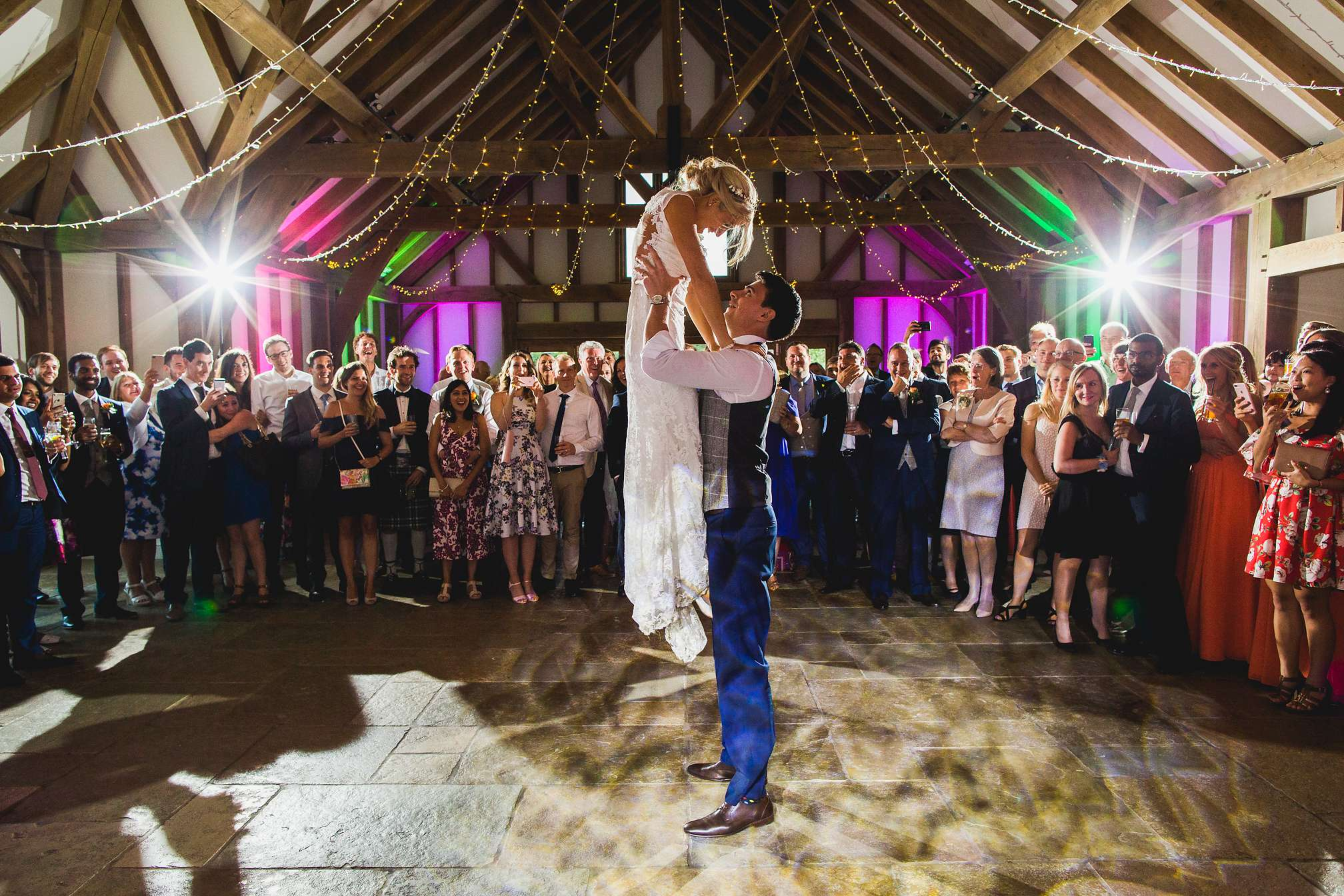 Brookfield Barn - Award winning first dance