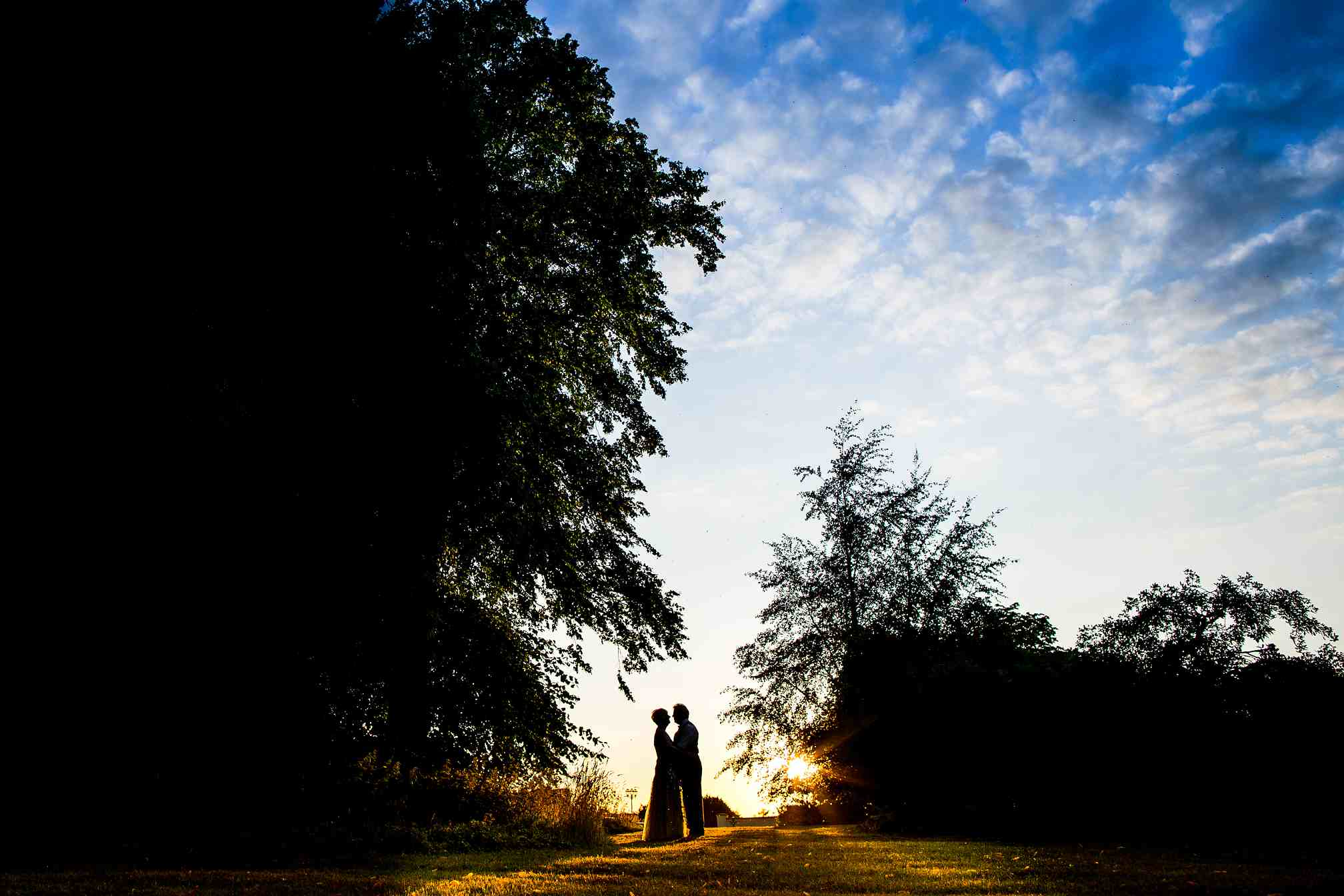 Cambridge Wedding Photography - Sunset Portrait