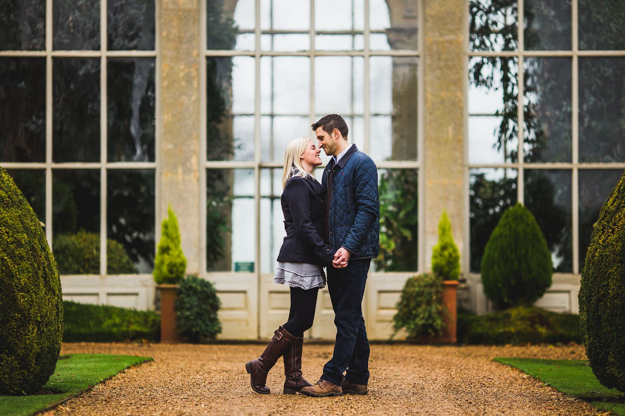 Castle Ashby, Orangery - Pre-Wedding Shoot