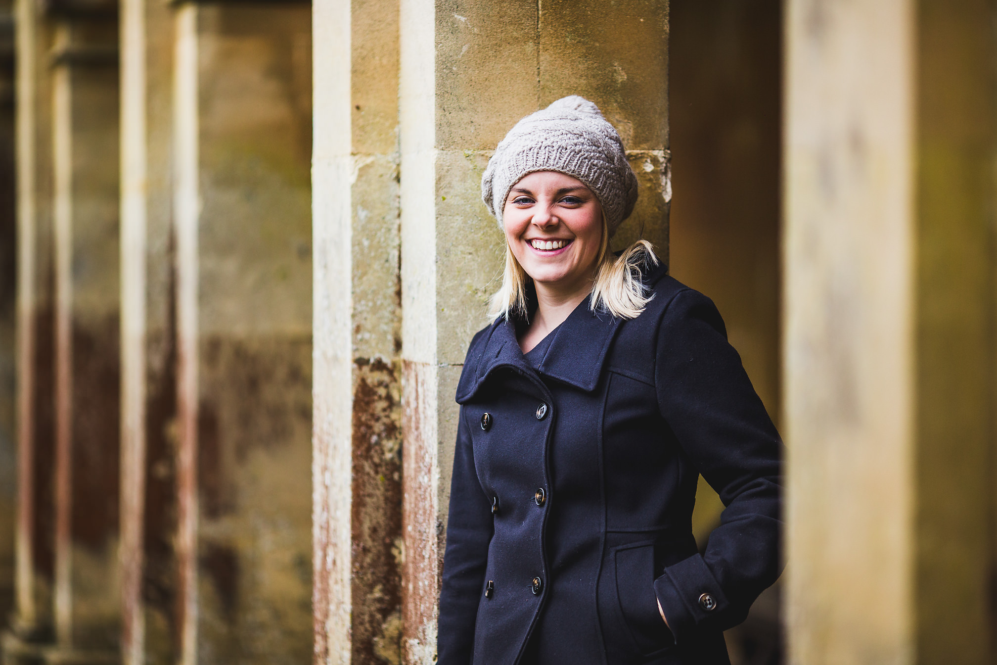Portrait of Becca, Castle Ashby