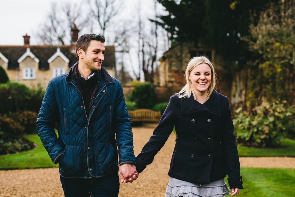 Castle Ashby - Pre-Wedding Shoot