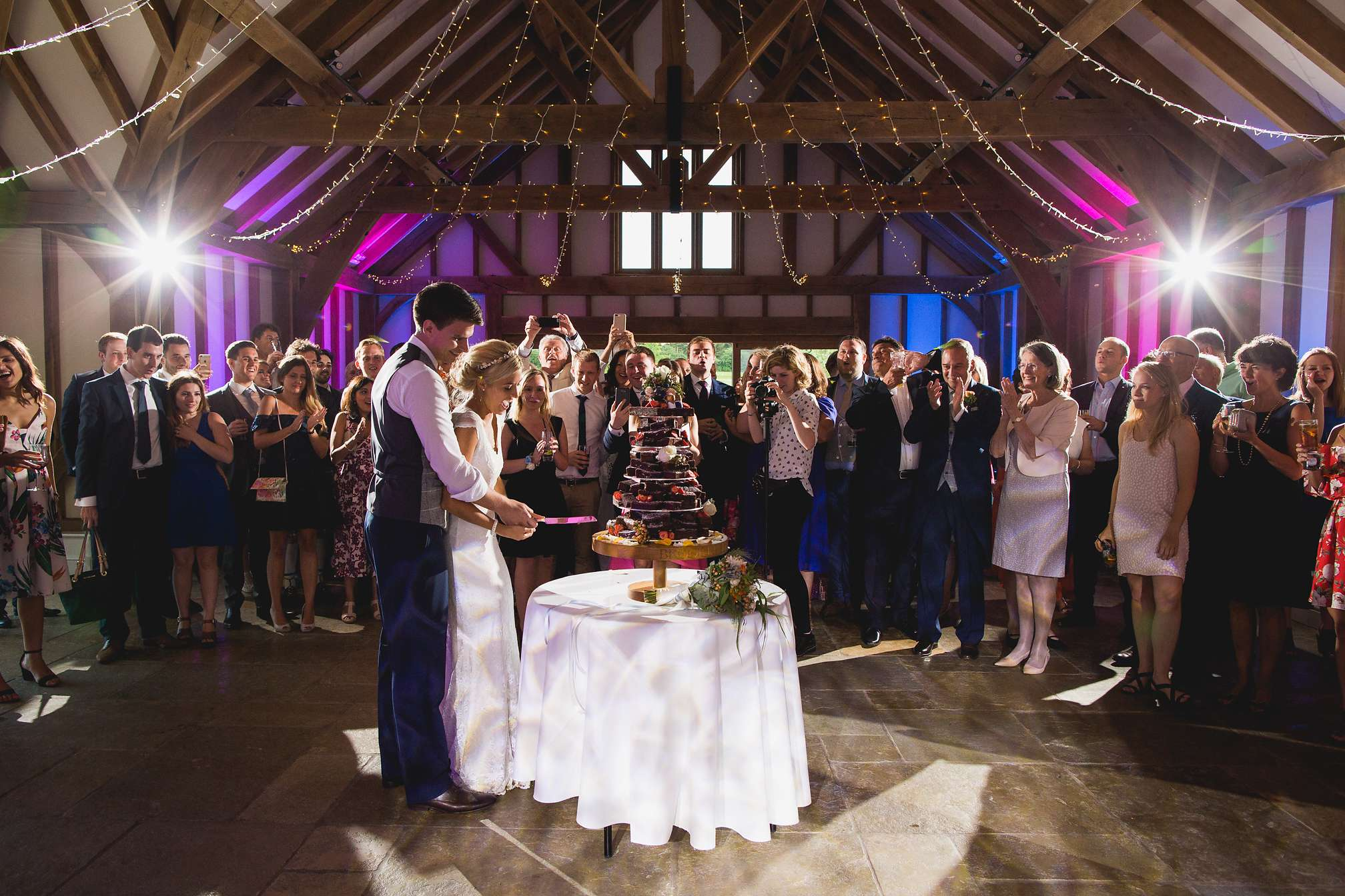 Brookfield Barn Cake Cutting