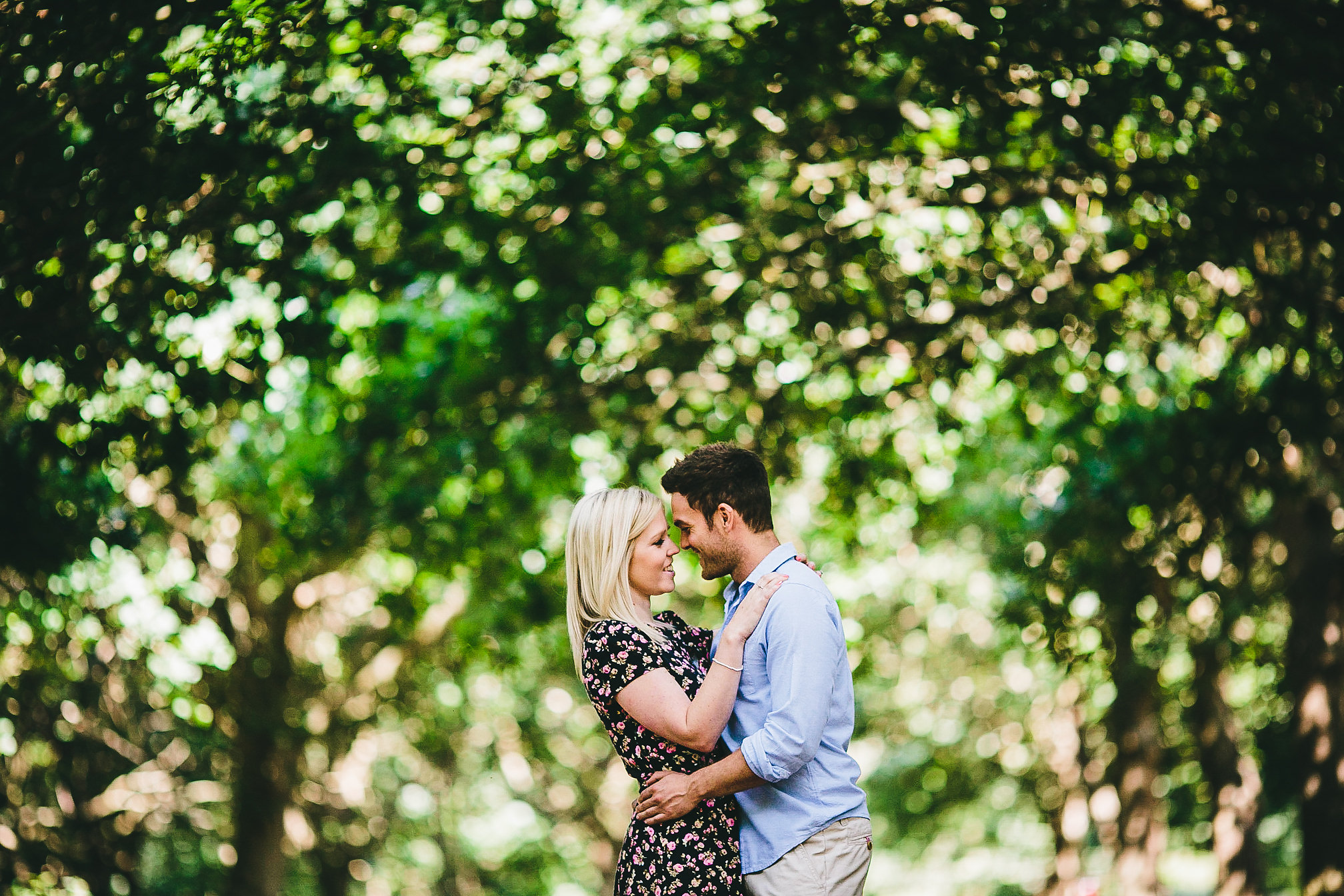 Delapre, Northants Engagement Shoot