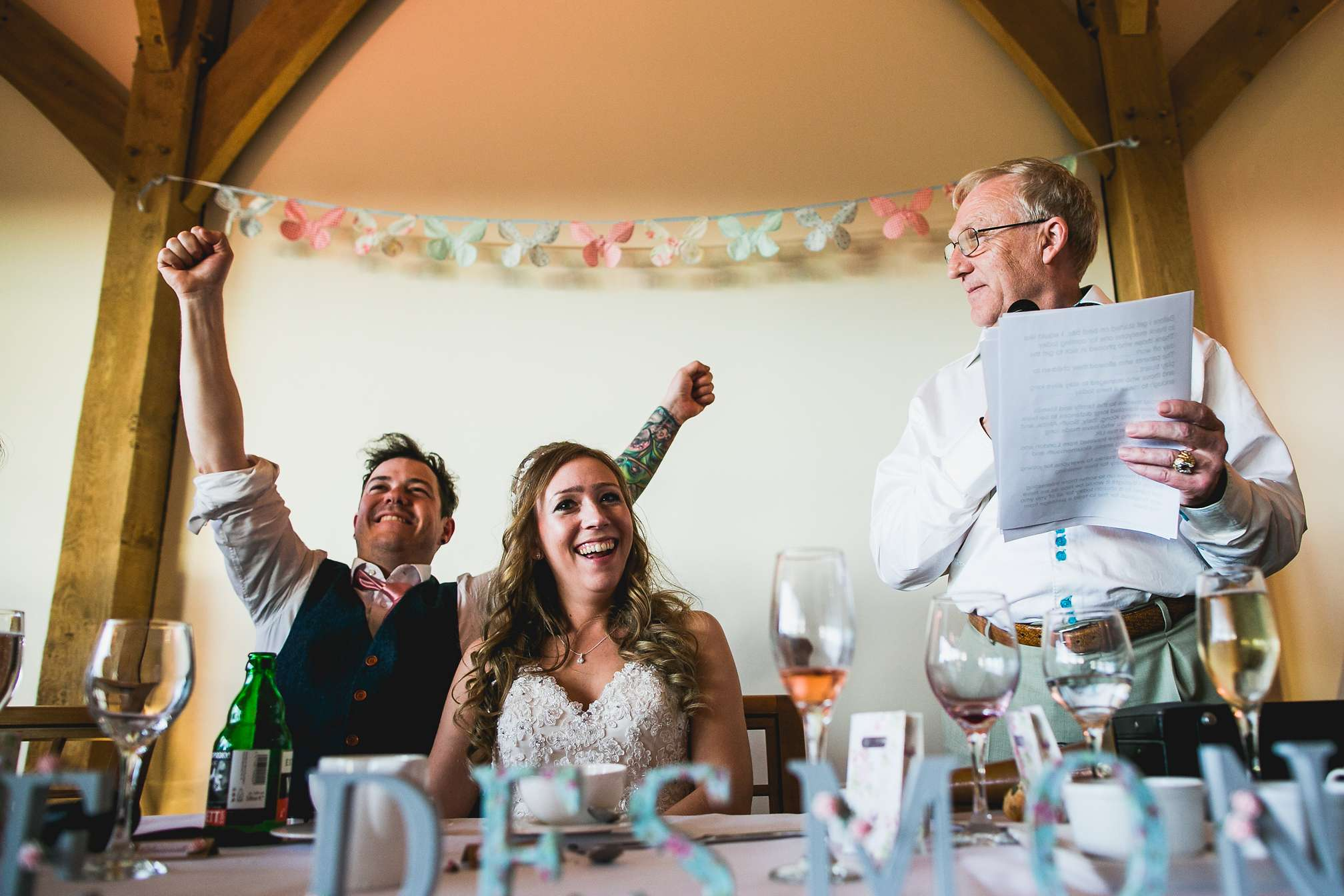 Fun Speeches at Dodford Manor, Northamptonshire