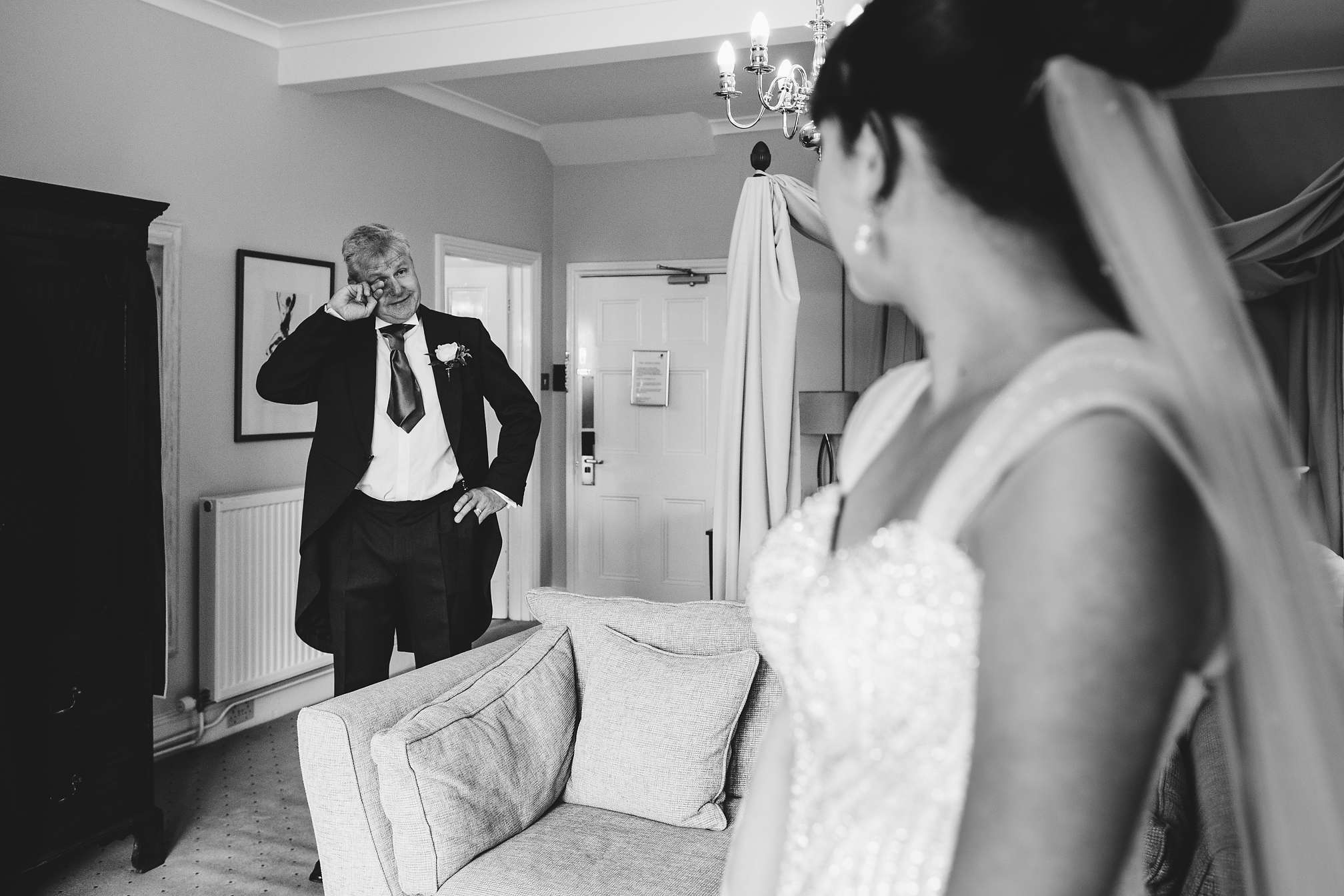The Father of the Bride Reveal at Highgate House, Northamptonshire
