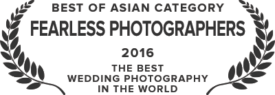 Fearless Photographers - Best of Asian Weddings Category - 2016