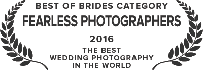 Fearless Photographers - Best of Bride + Bride Category - 2016