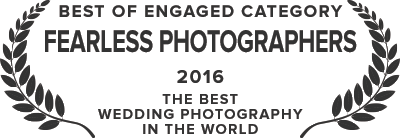 Fearless Photographers - Best of Engaged Category - 2016