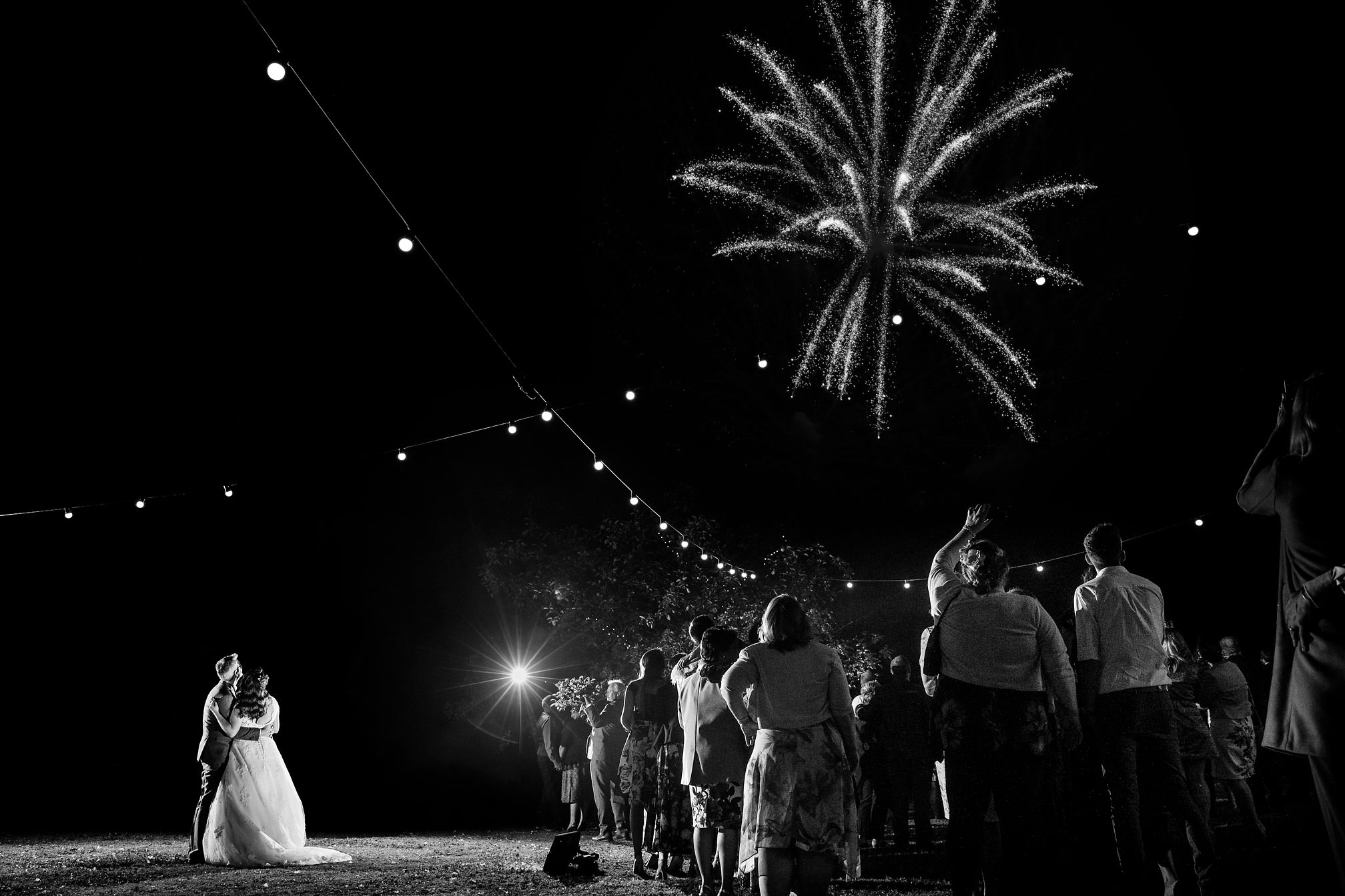 First Dance set to Fireworks