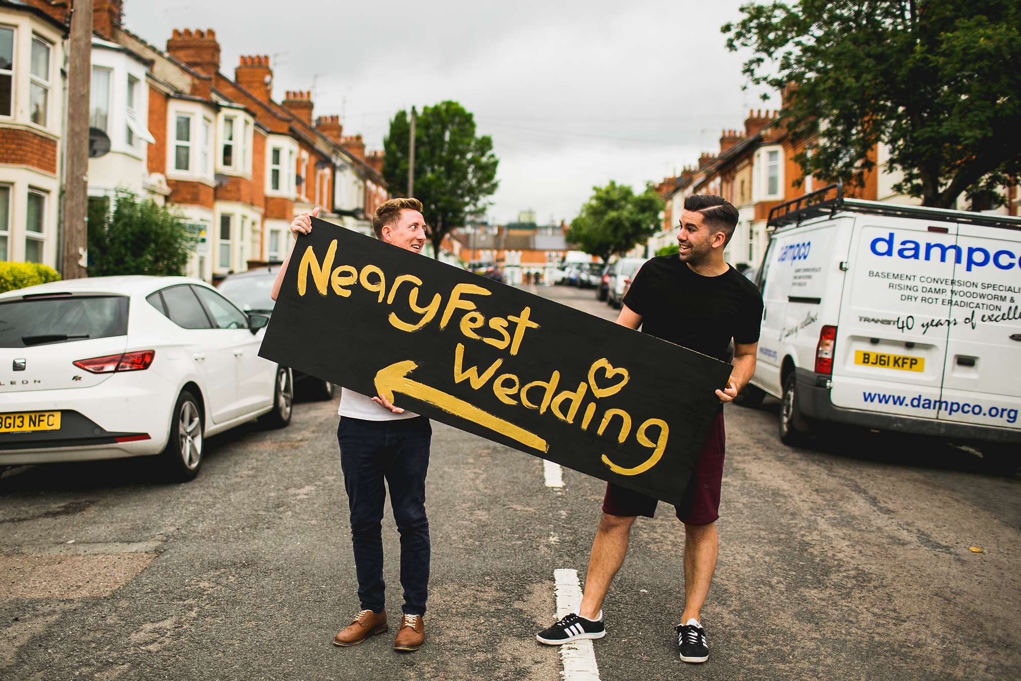 Neary Fest Wedding sign