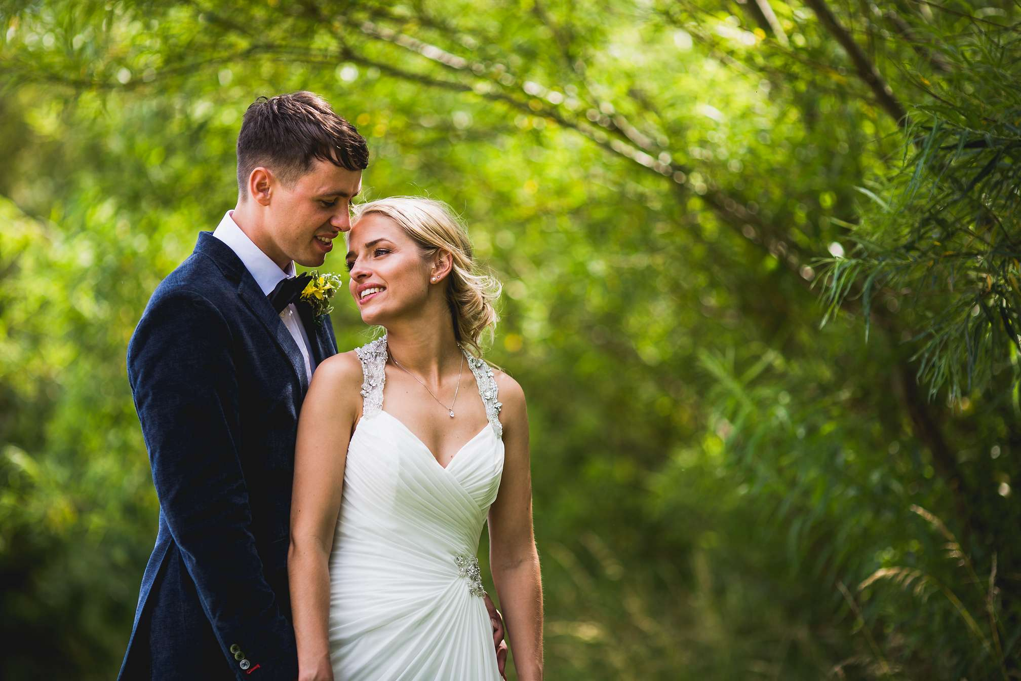 Rachel and Sean - Beautiful Wedding Portrait