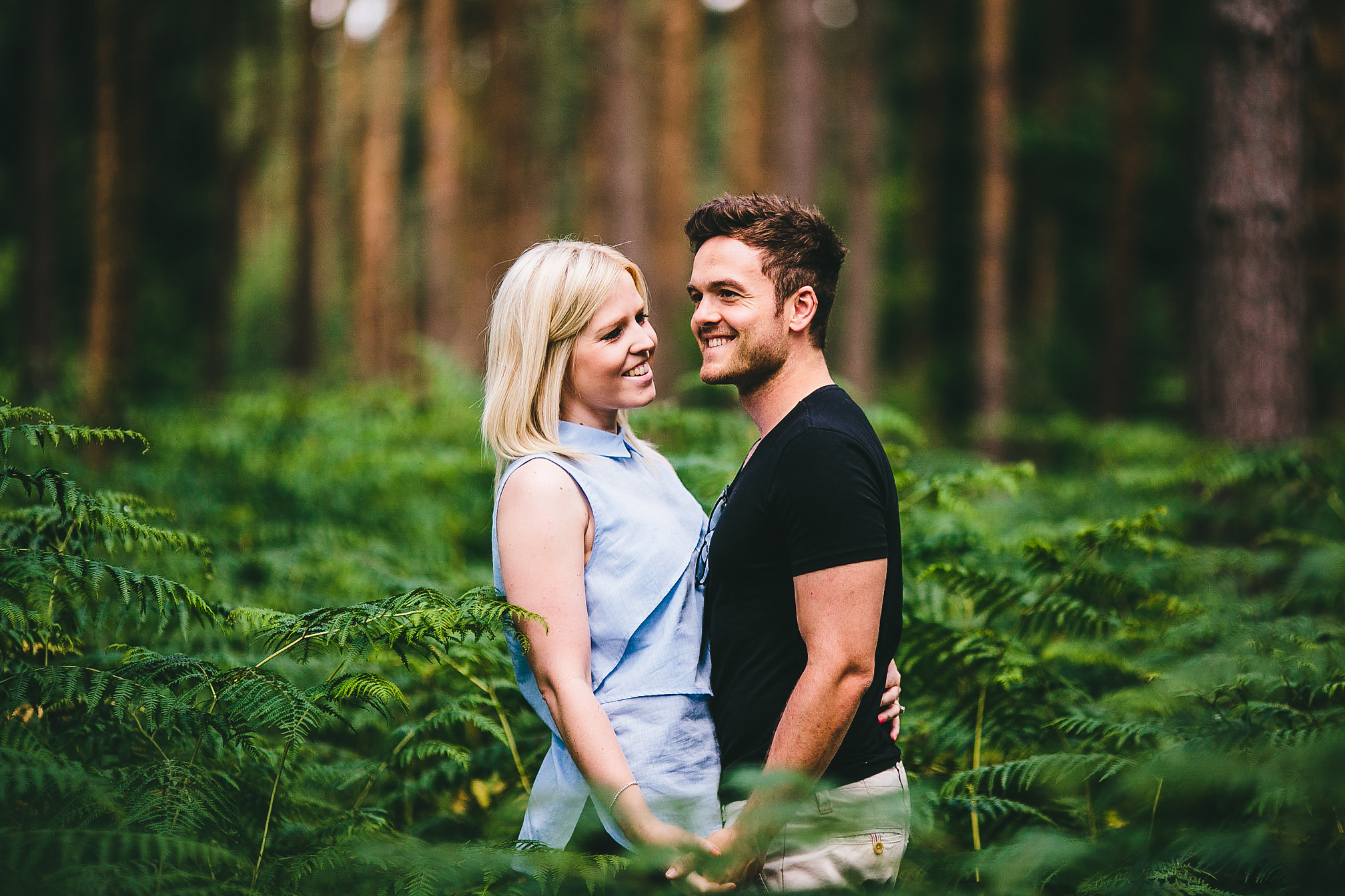 Harlestone Firs Engagement Shot