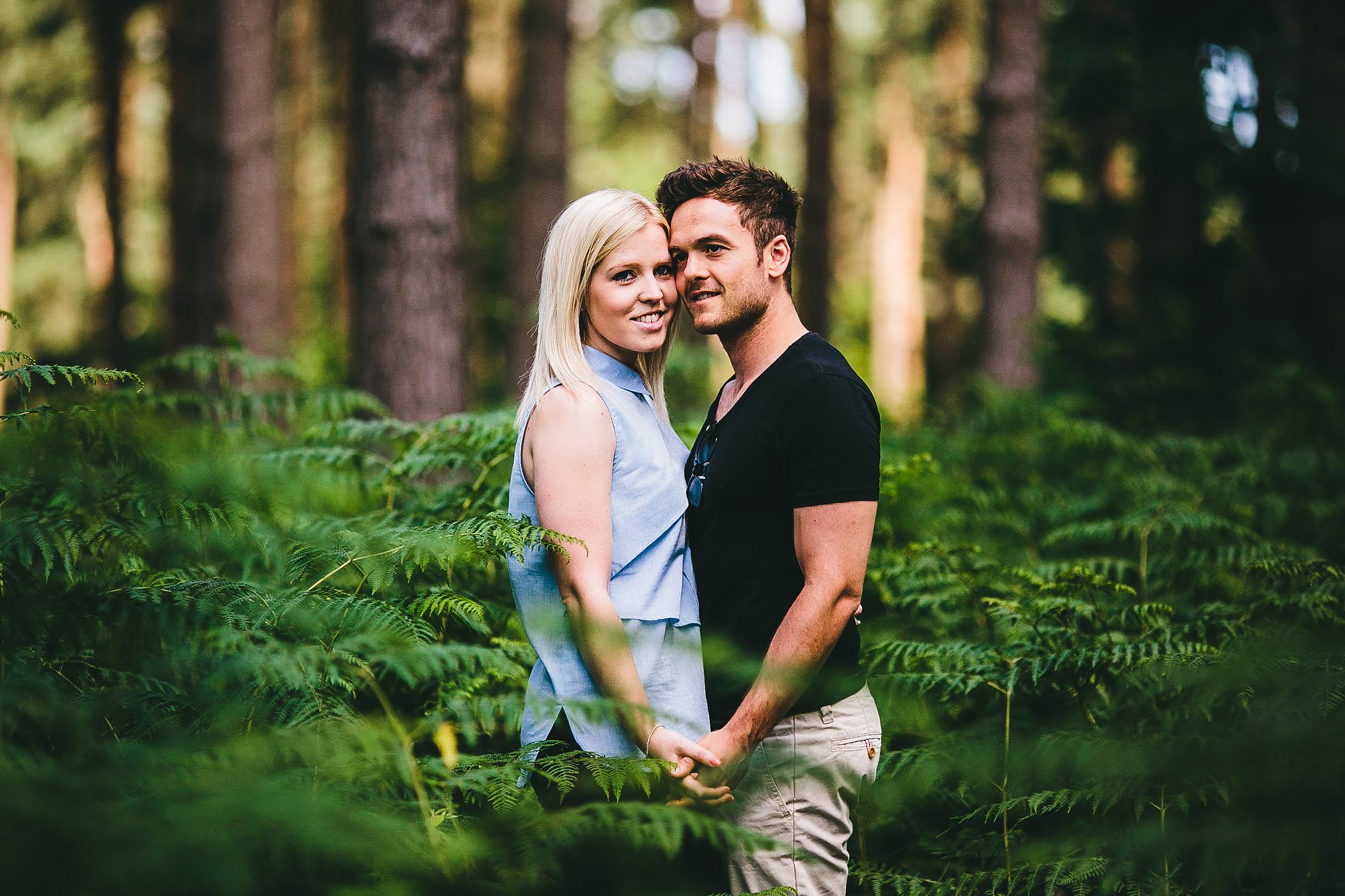Harlestone Firs Engagement Photo