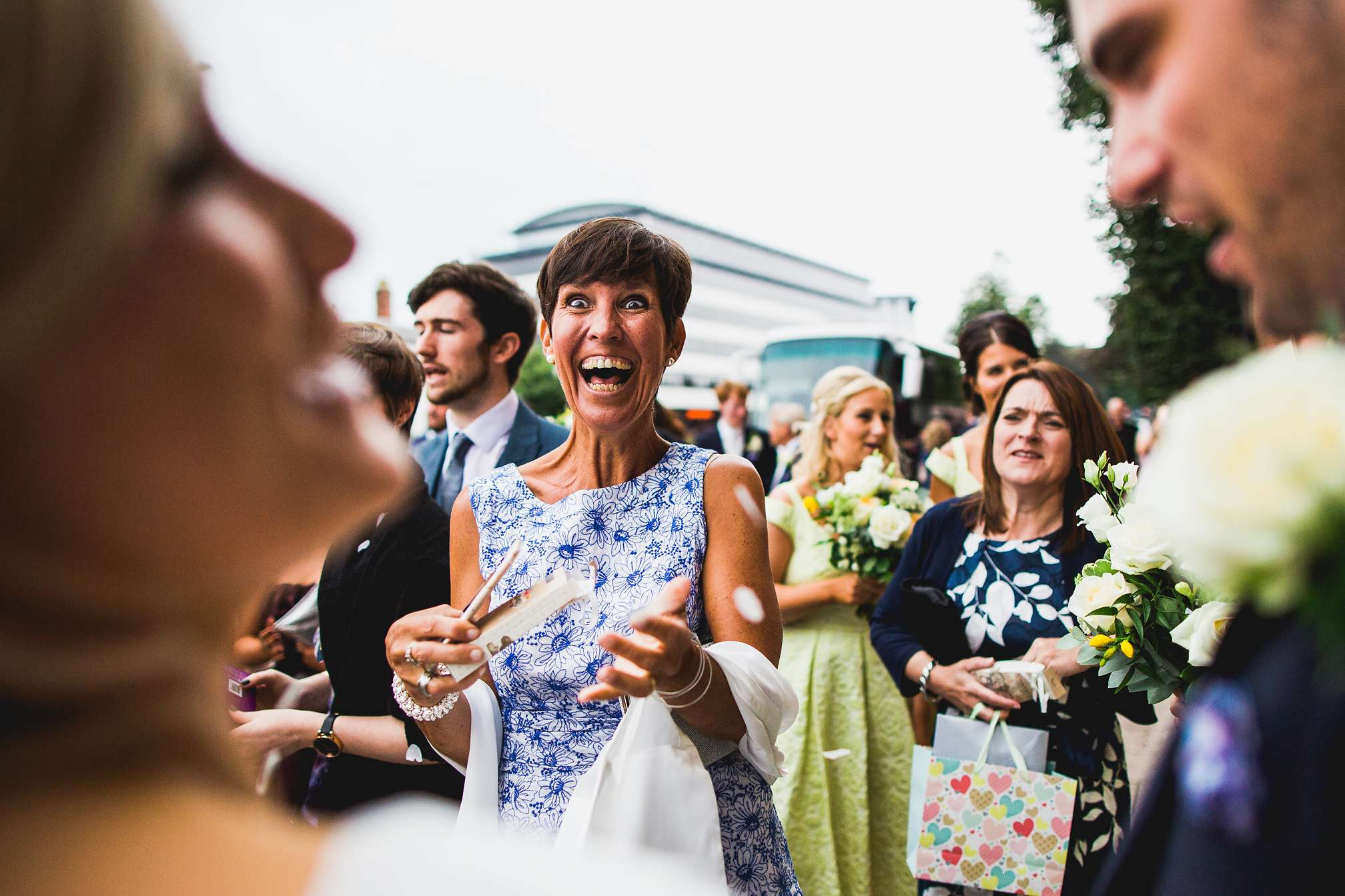 MyWed Editors Choice - Ecstatic Wedding Guest
