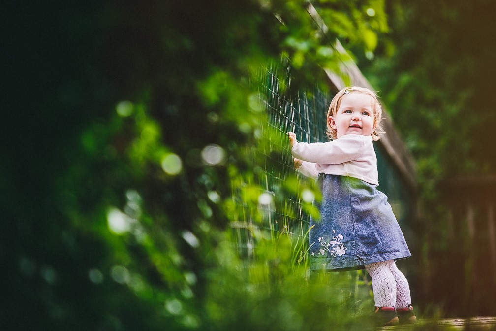 Imogen at the park