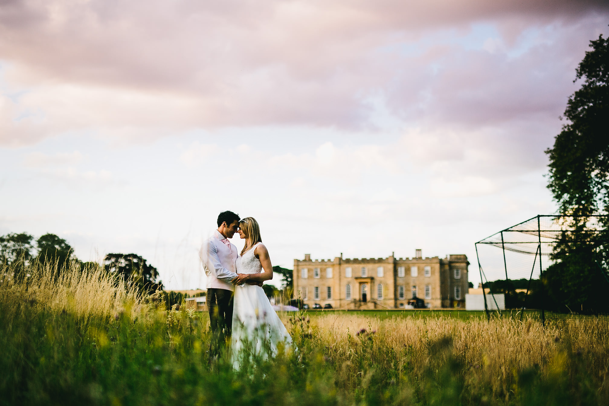 Gorgeous Wedding Portrait at Kimbolton Castle
