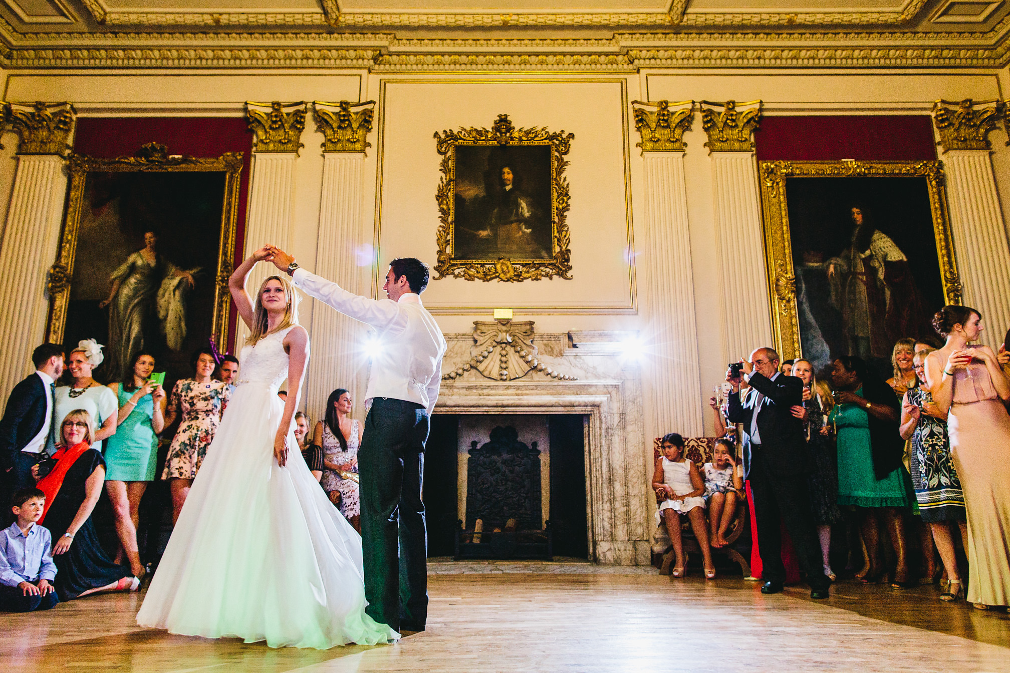 Kimbolton Castle Wedding First Dance