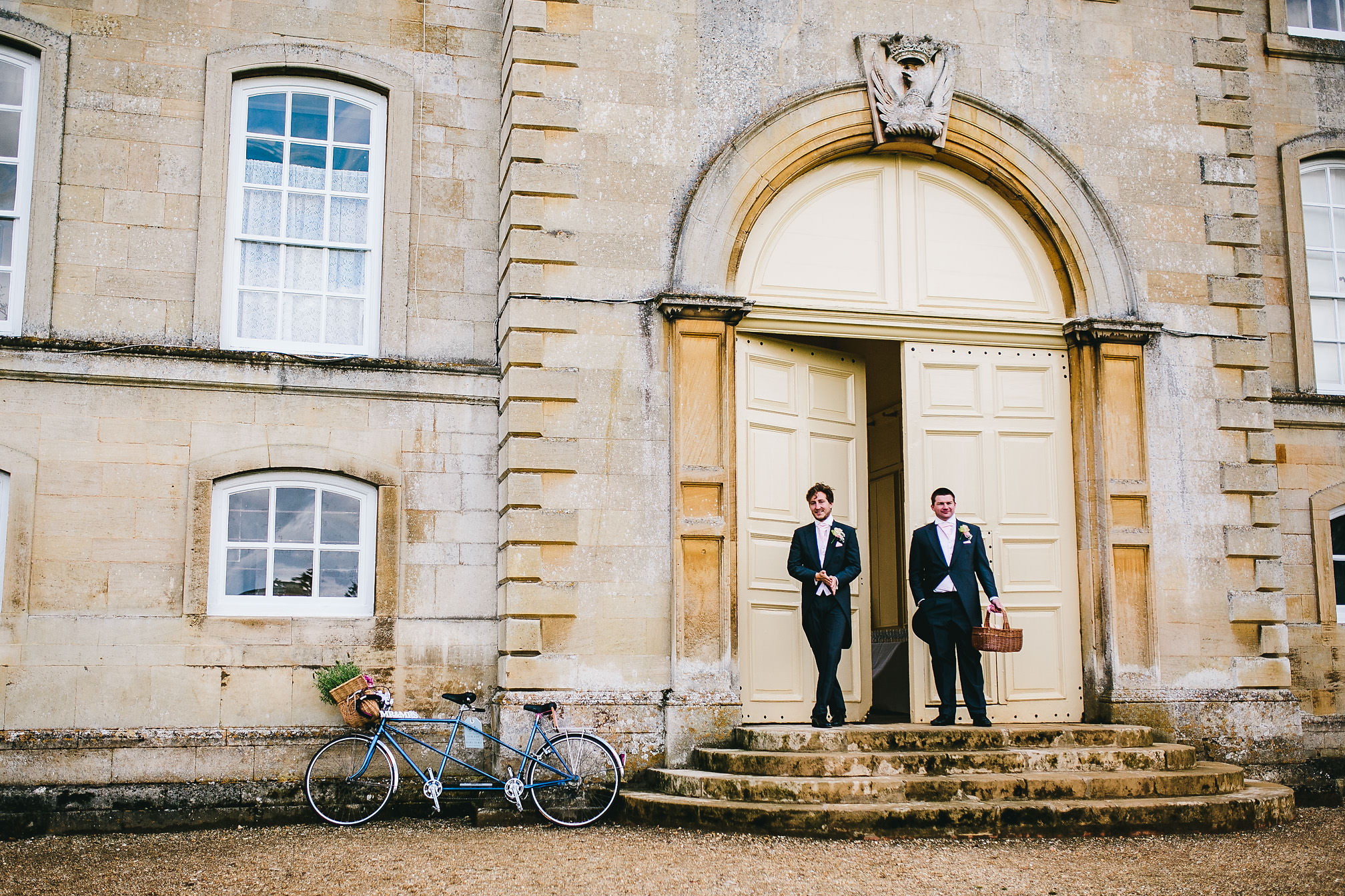 Groomsmen - Kimbolton Castle Wedding