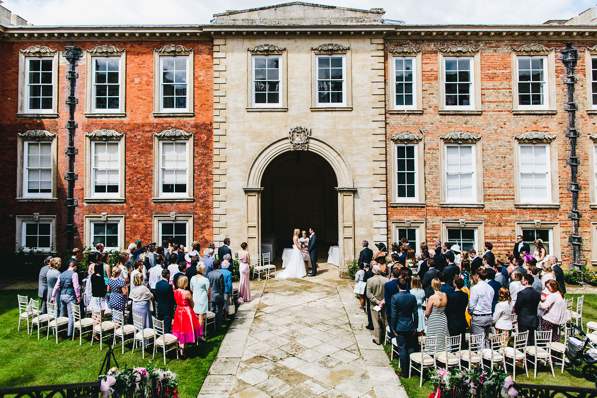 Stunning Kimbolton Castle Wedding