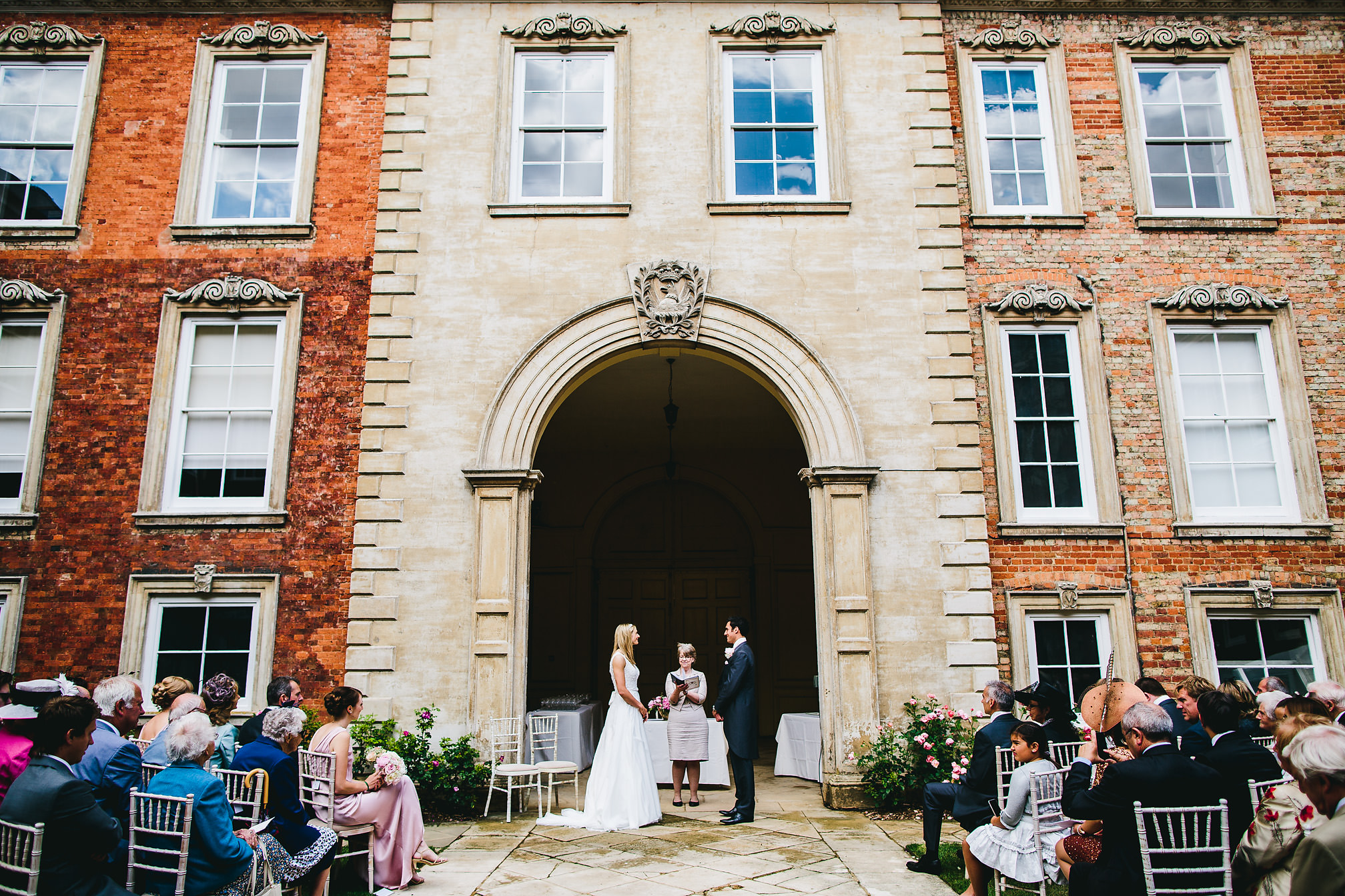 Elegant Kimbolton Castle Wedding