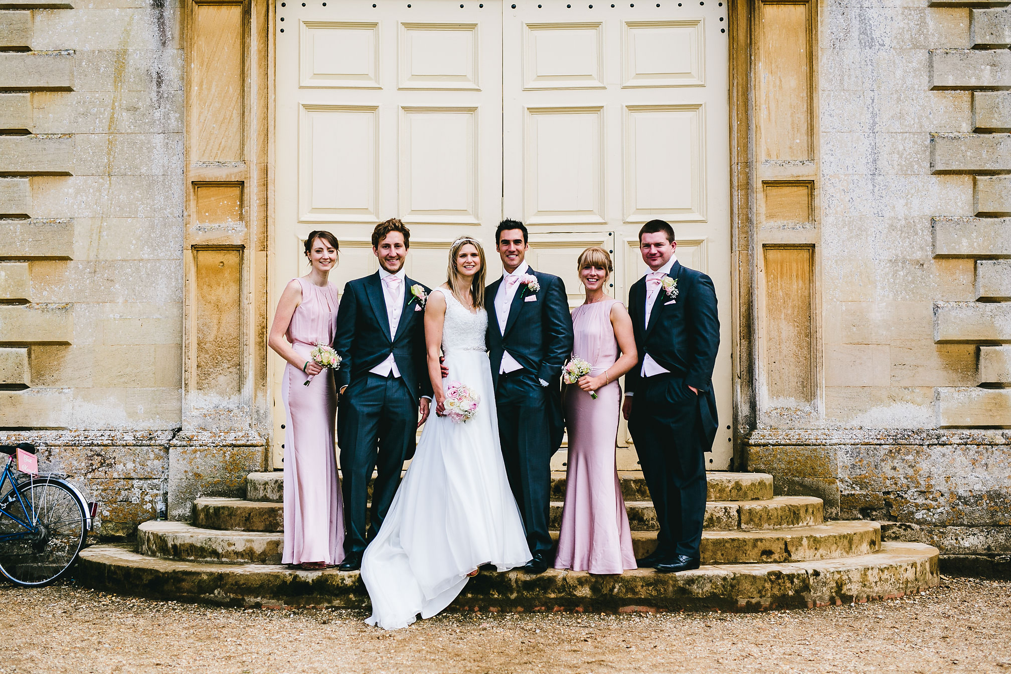 Wedding Group Shot - Kimbolton Castle Wedding