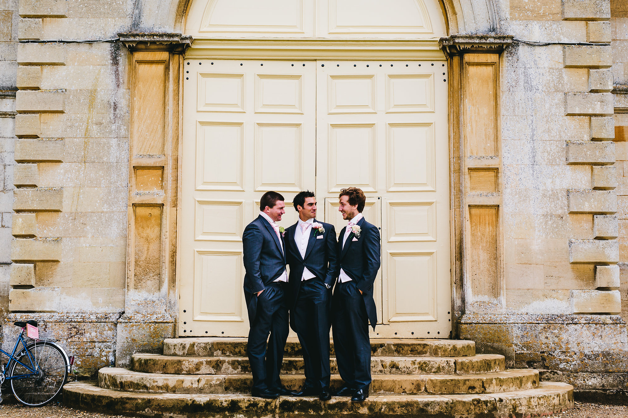 Groomsmen at Kimbolton Castle