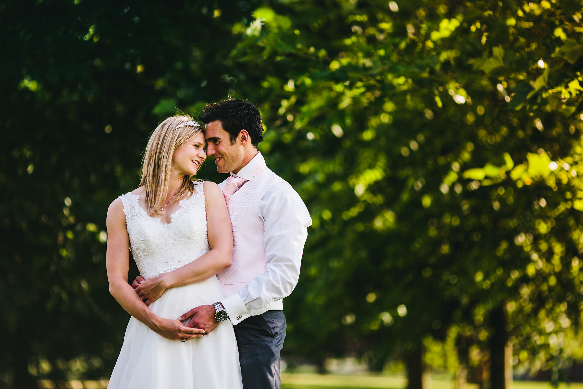 Award Winning Portrait - Kimbolton Castle Wedding