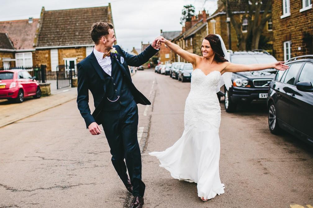 Northamptonshire Village Pub Wedding Photography - Featured