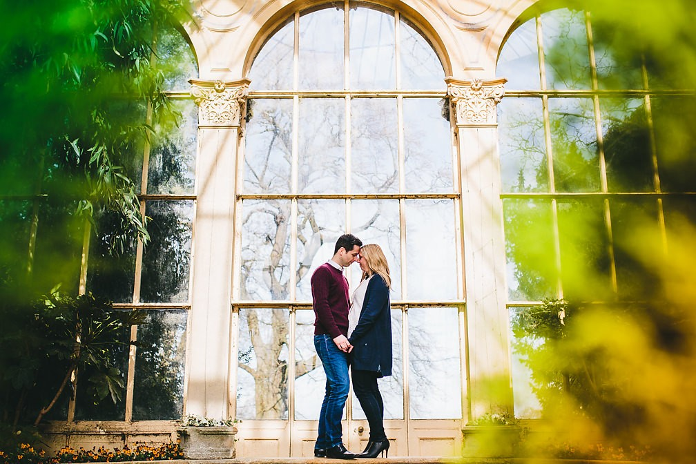 Castle Ashby Gardens - Pre-Wedding Photo