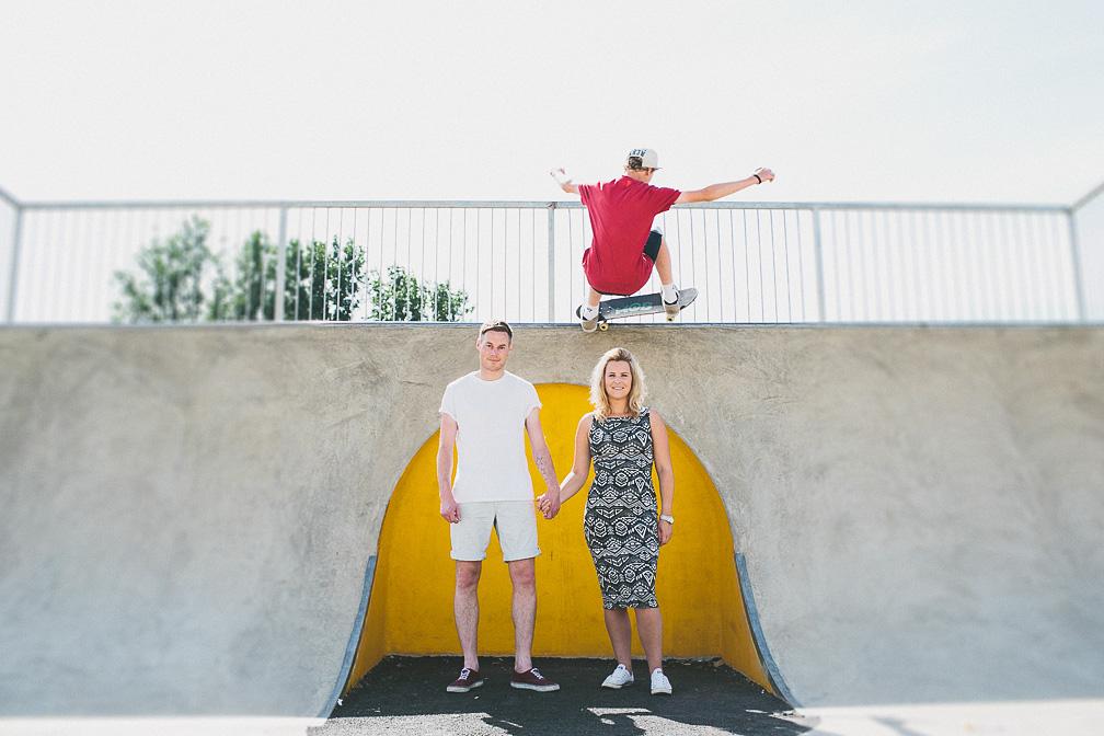 Skate Park, Kettering - Pre-Wedding Photo