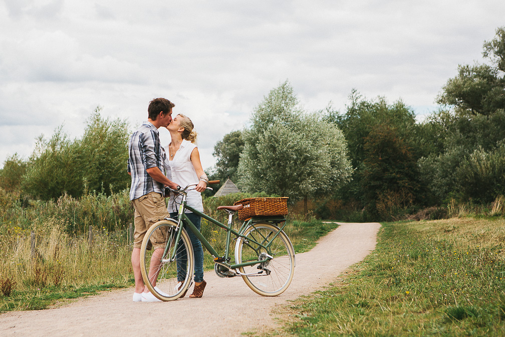 Vintage Bike - Pre-Wedding Photo
