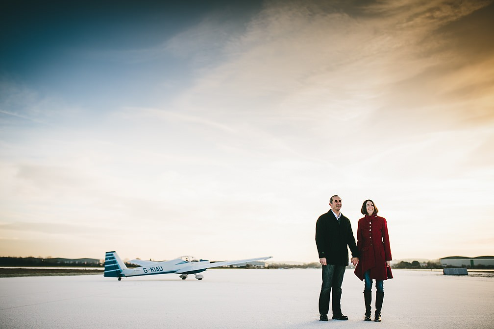 Airfield - Pre-Wedding Photo