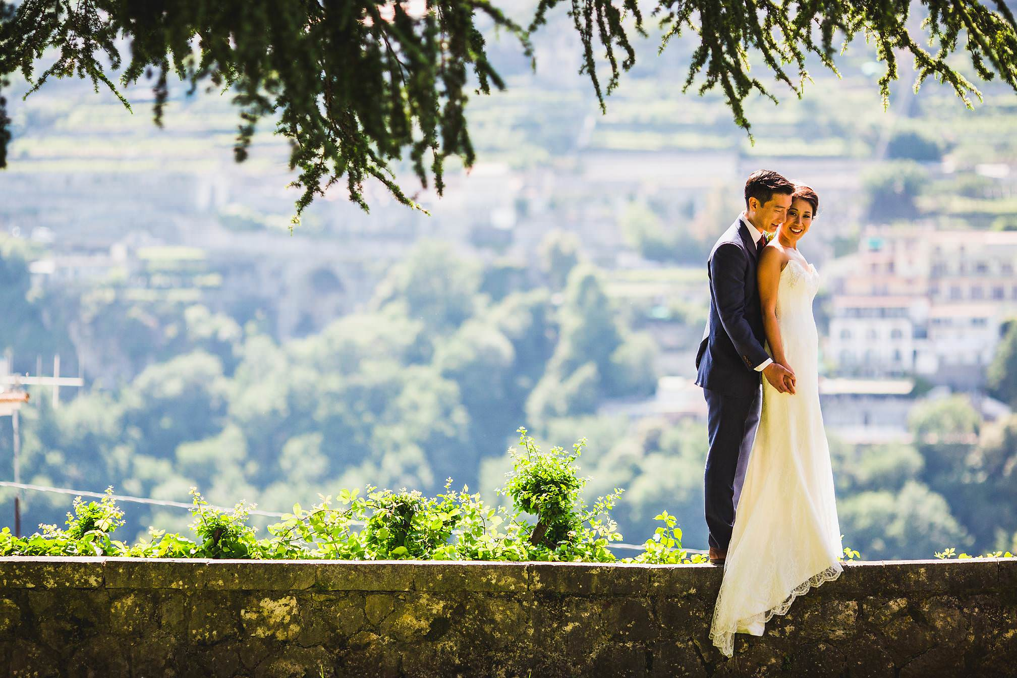 Award Winning Amalfi Coast Wedding Portrait